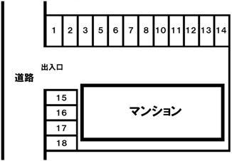 神戸市須磨区白川台5丁目 月極駐車場