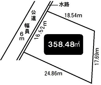 神戸市西区池上2丁目 売土地の図面