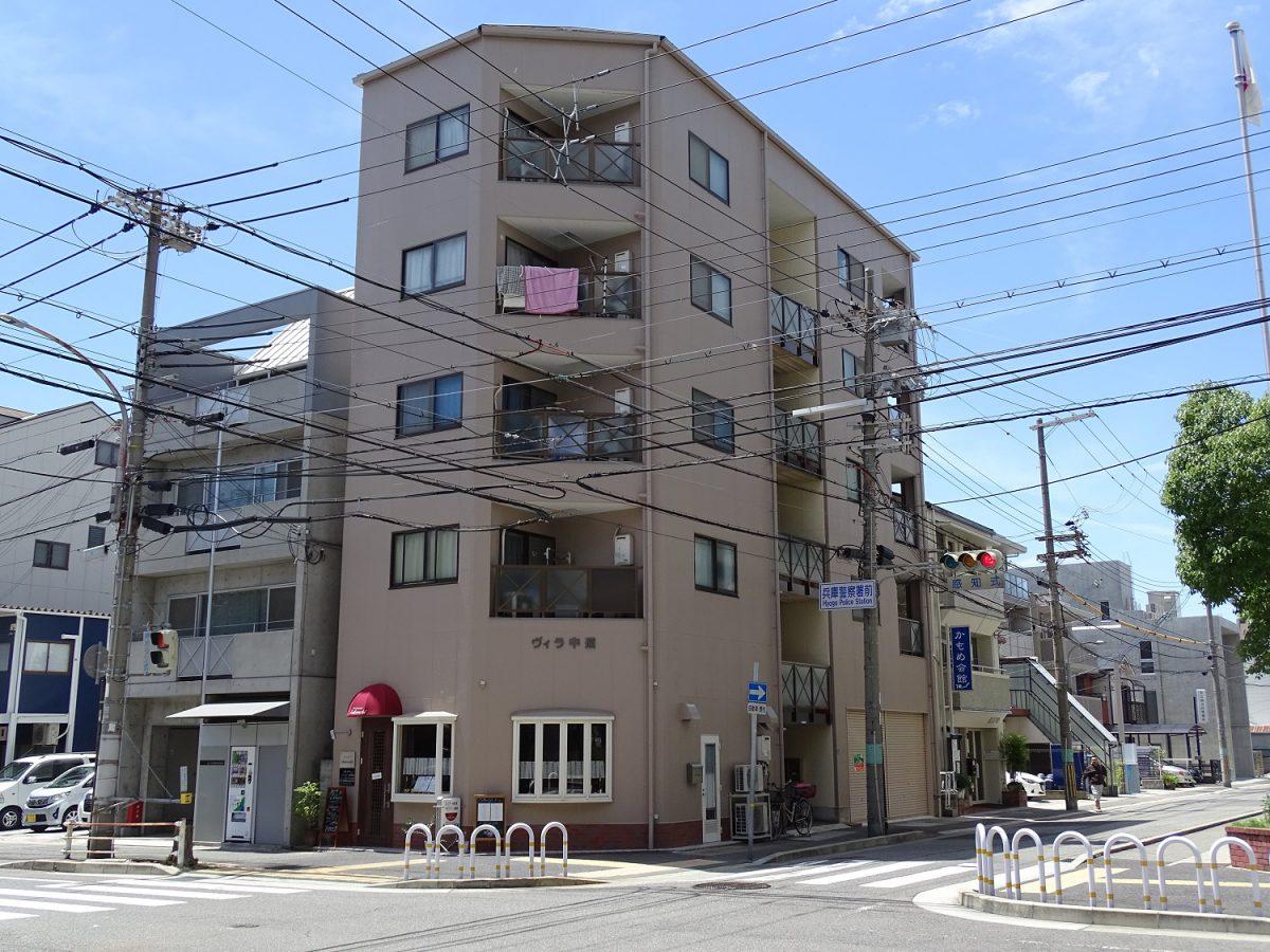 ヴィラ中道 神戸市兵庫区中道通3丁目 貸店舗・事務所