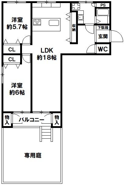 神戸住吉川向コーポラス 神戸市東灘区住吉山手2丁目の図面