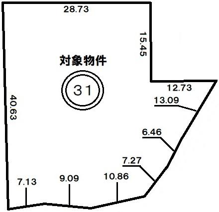 神戸市長田区西丸山町2丁目 売土地の図面