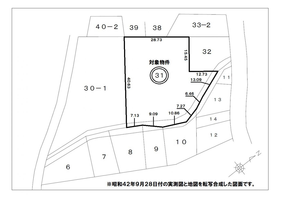 神戸市長田区西丸山町2丁目 売土地の物件写真-12
