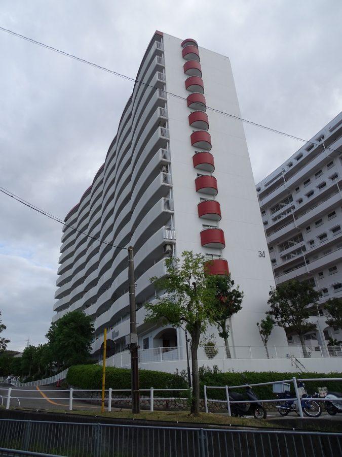 名谷7団地34号棟 神戸市須磨区竜が台1丁目