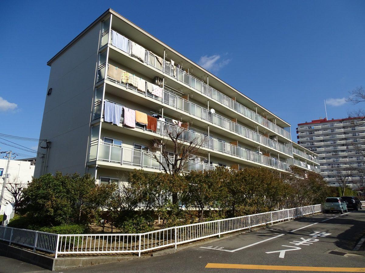 名谷8団地43号棟 神戸市須磨区竜が台2丁目