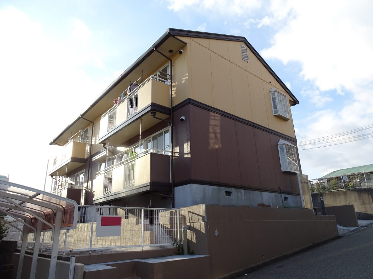 神戸市須磨区白川台5丁目 収益アパートのメイン写真
