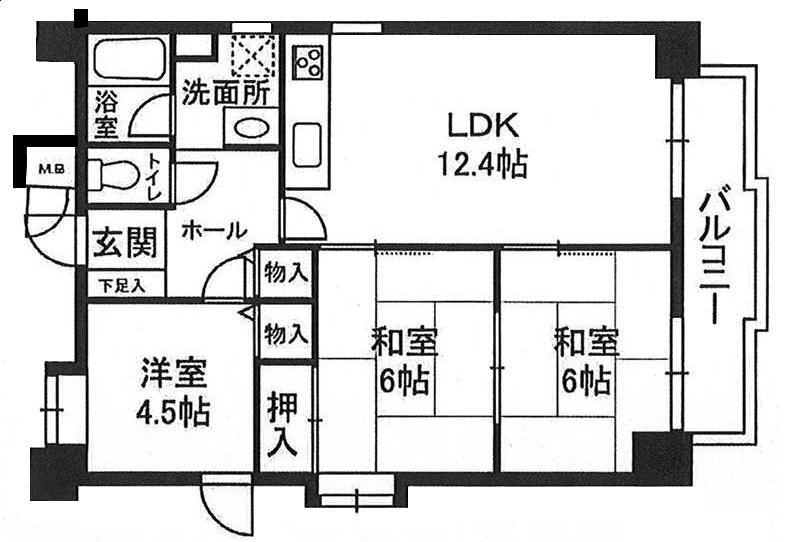 メープル中山手 神戸市中央区中山手通2丁目の図面