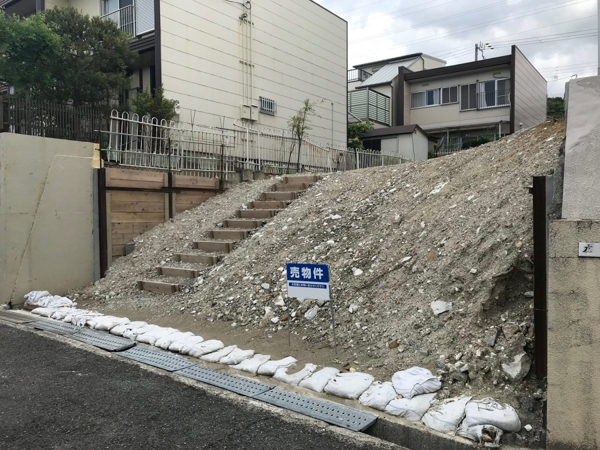 神戸市須磨区竜が台6丁目 売土地の物件写真-1