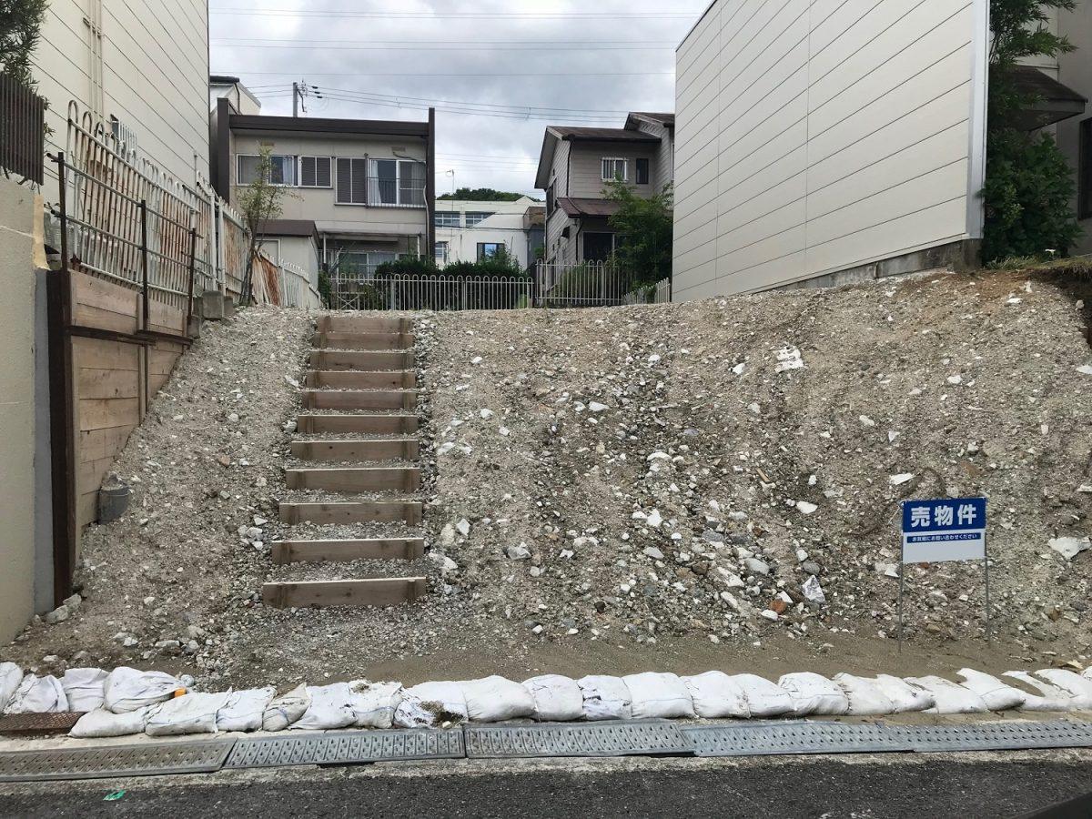 神戸市須磨区竜が台6丁目 売土地の物件写真-2