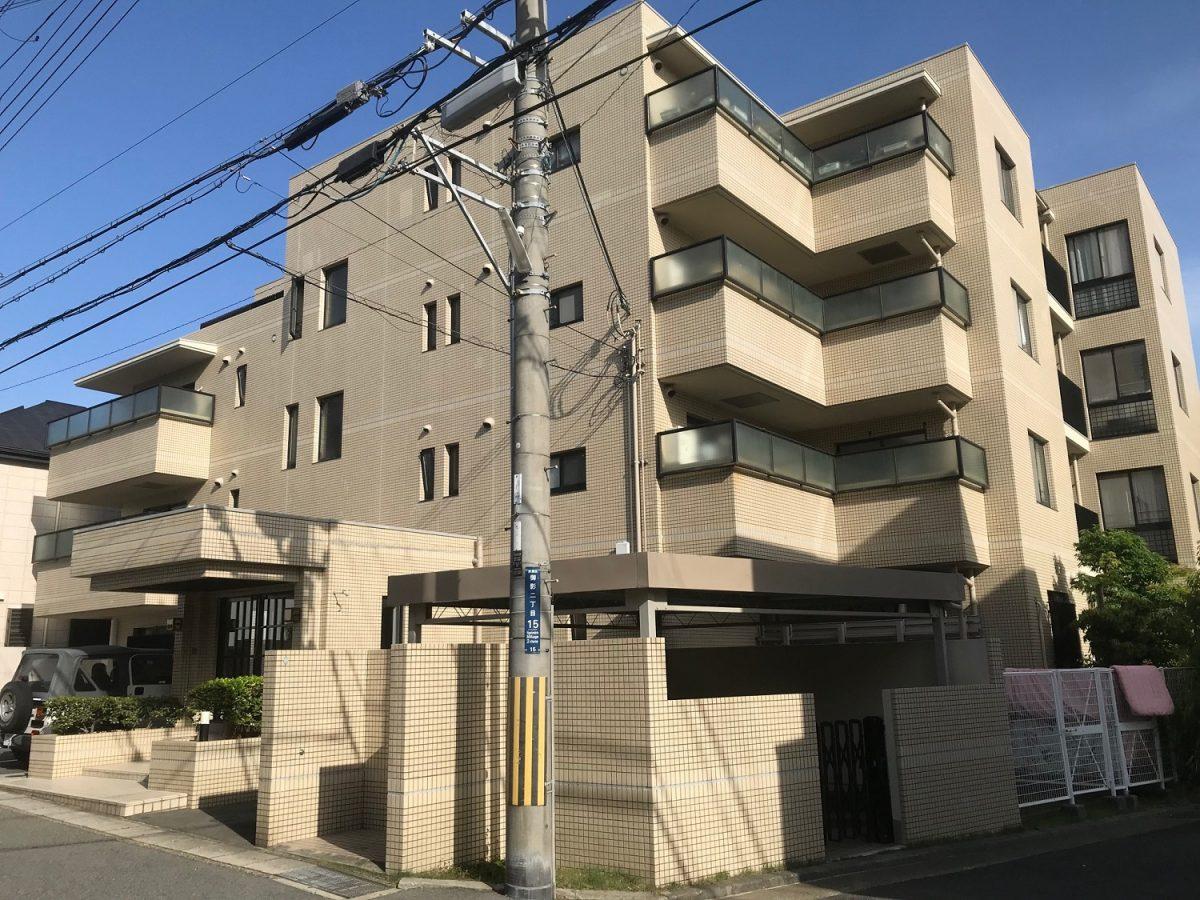 御影パーク・ハイムⅡ 神戸市東灘区御影2丁目 分譲貸し