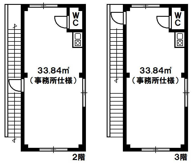 貸店舗・事務所 神戸市長田区神楽町6丁目の図面