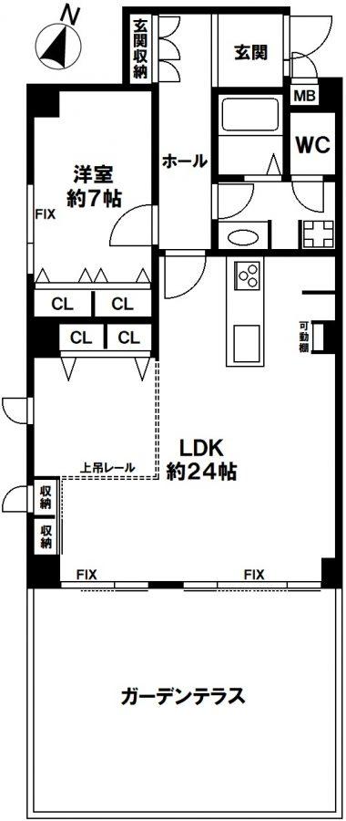 ロワ・ヴェール岡本 神戸市東灘区本山町北畑字ザクガ原の図面