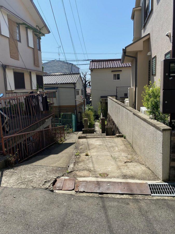 神戸市灘区赤坂通8丁目 売土地の物件写真-1