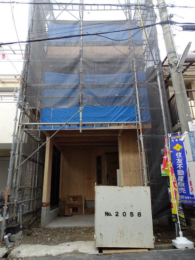 神戸市中央区熊内橋通3丁目 新築戸建