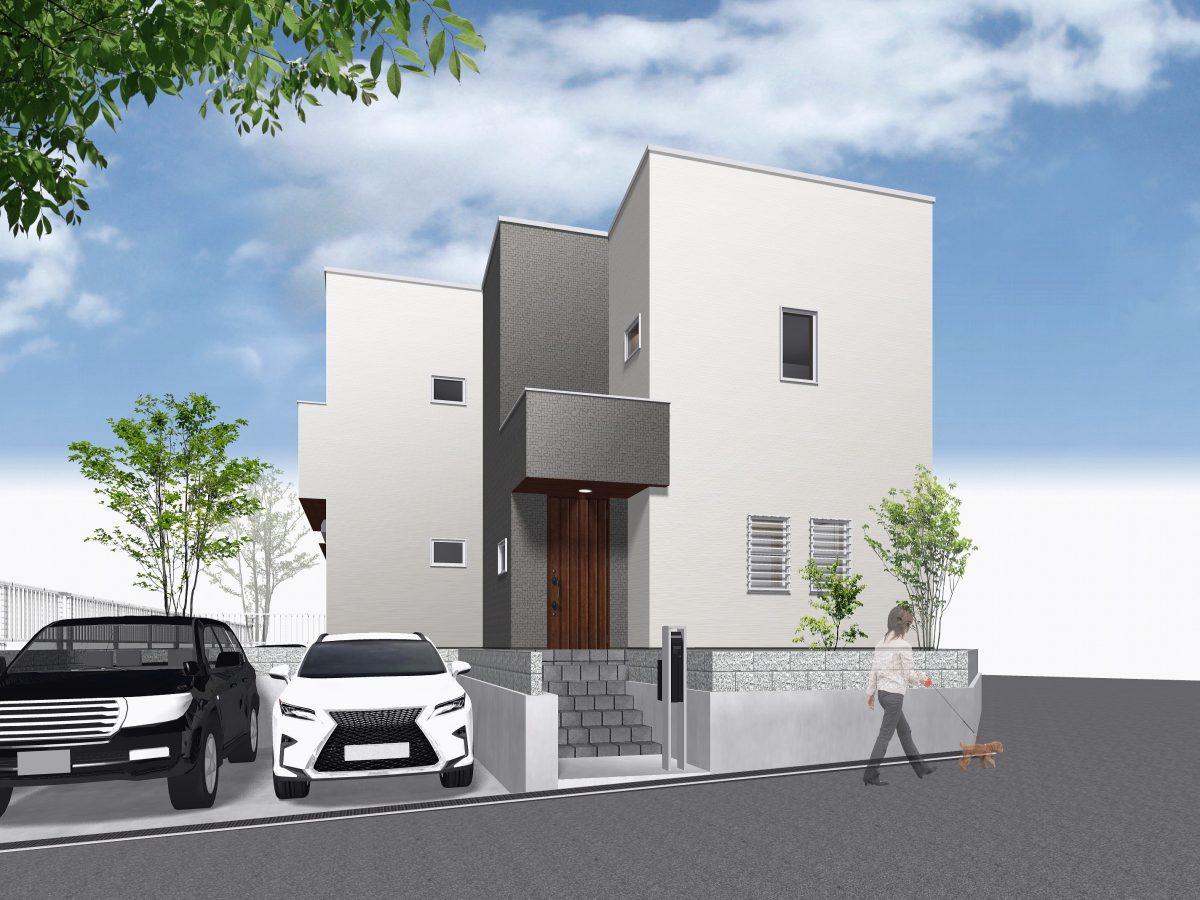 神戸市須磨区白川台4丁目 新築住宅2号地