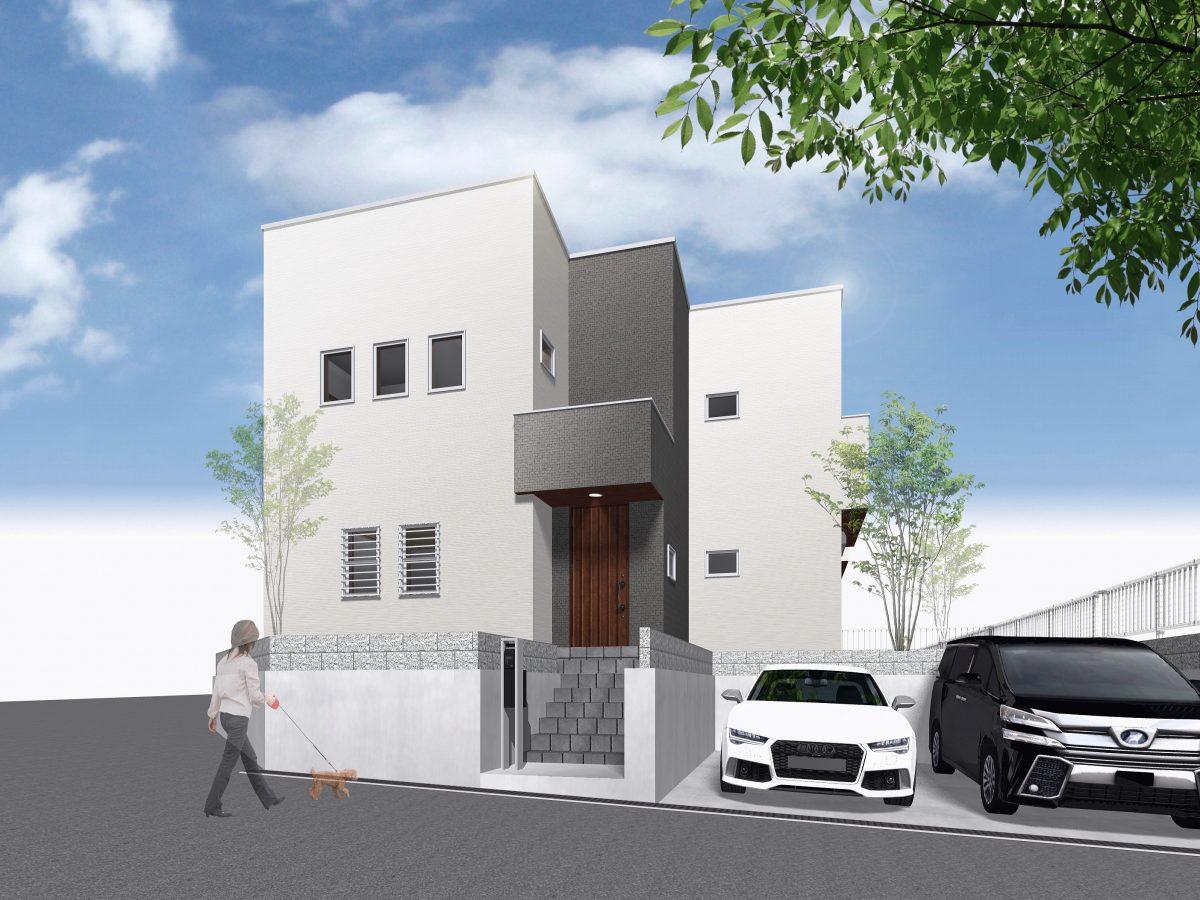 神戸市須磨区白川台4丁目 新築住宅1号地
