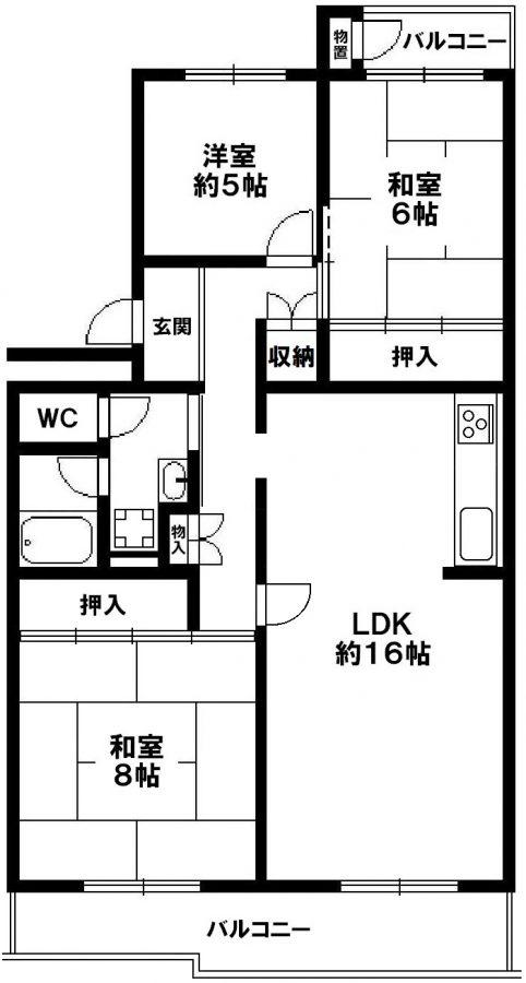 中落合第一住宅454号棟 神戸市須磨区中落合4丁目